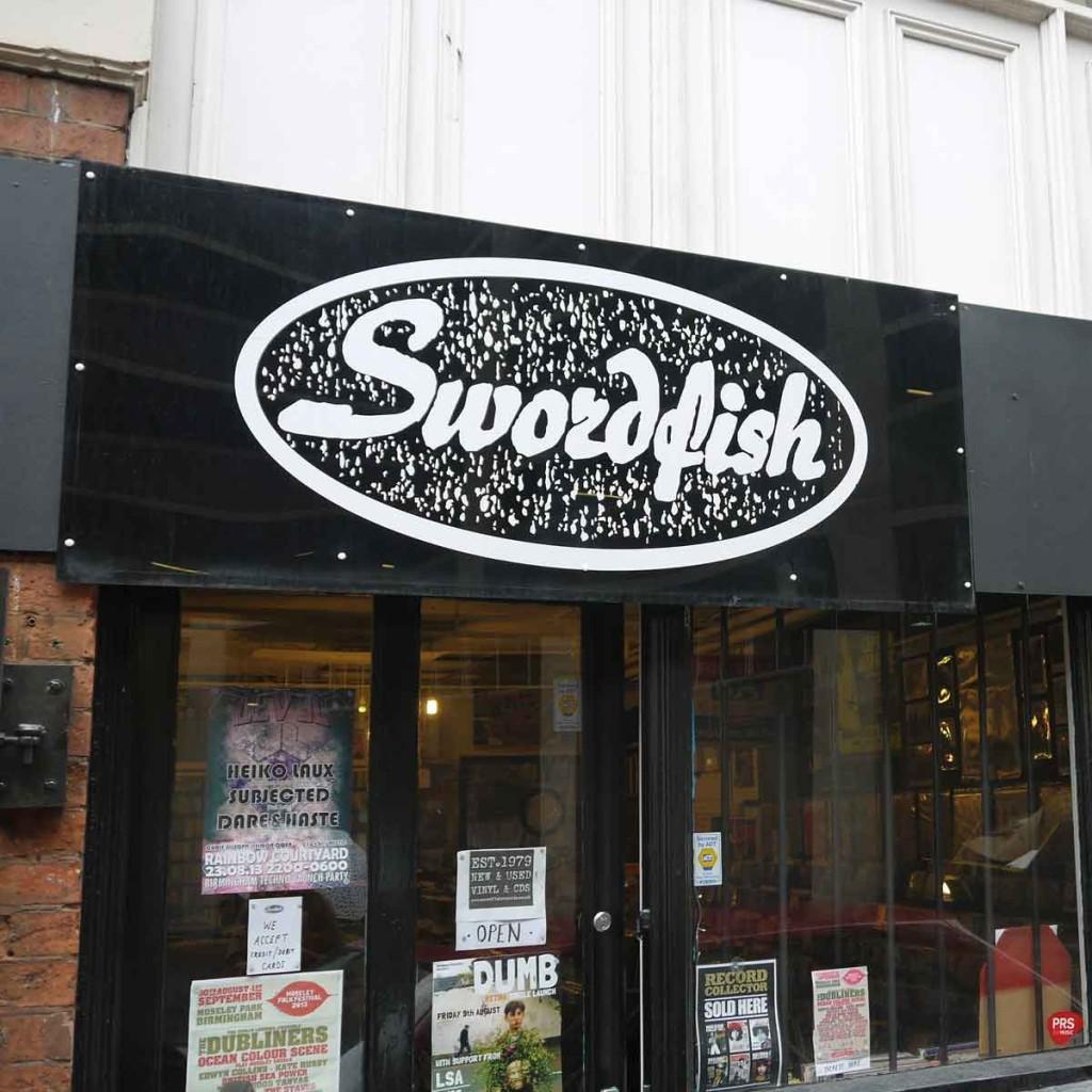 Swordfish Records Independent Birmingham